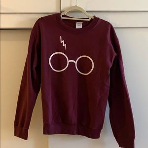 Maroon Harry Potter sweatshirt